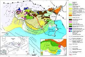 g map geological structural map of sicily modified after bigi et al