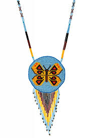 beaded medallion necklace images Beaded medallion necklaces cheryl 39 s trading post jpg