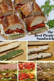 the best picnic sandwich recipe tomato pesto pesto and picnics