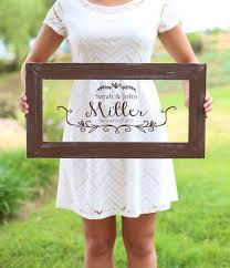 personalized bridal shower gifts personalized calligraphy wedding sign bridal shower gift wedding
