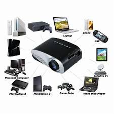 mini home theater led projector home cinema theater projection machine support pc