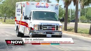 uber lyft taking business away from ambulance companies study