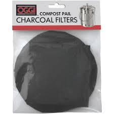 oggi eco compost pail filter refills kitchen stuff plus