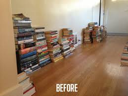 book stacking ideas why you shouldn t feel bad about not owning tons of books a