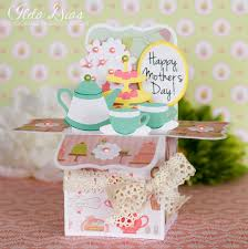 i love doing all things crafty happy mother u0027s day tea time box