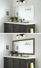 pinterest bathroom mirror ideas one way mirror bathroom lovely best bathroom mirrors ideas on