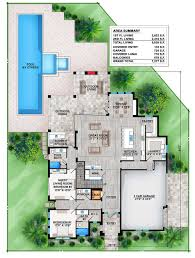 contemporary plan courtyard60 luxury modern house plan 61custom
