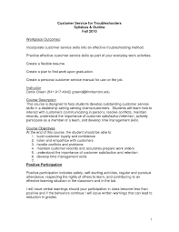 Resume Examples For Clerical Positions by Example Resume Objective Statement Customer Service