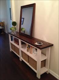 Low Console Table Furniture Amazing Console Narrow Table Slim Foyer Table 6 Foot