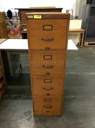 Vintage Oak Filing Cabinet Oak Filing Cabinet 4 Drawer File Cabinet Vertical Filing Cabinets