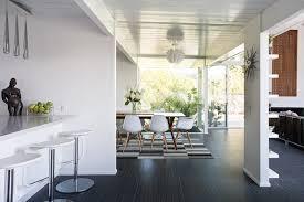Kitchen Diner Designs White Kitchen Diner Interior Design Ideas
