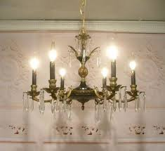 French Chandelier Antique French Tole Chandelier Ebay