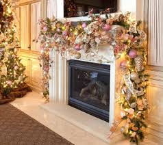 fireplace hearth christmas decorating ideas great decorations