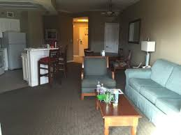 Two Bedroom Hotels Orlando Living Dining Kitchen Area Two Room Suite Picture Of Caribe