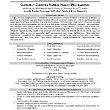 Resume For Substance Abuse Counselor Cover Letter Counseling Resume Sample Counseling Resume Sample