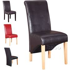 faux leather dining room chairs leather dining room chairs modern dining room decor ideas and