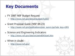 introduction and nsf overview september ppt video online download