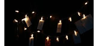 led 20pc clip light string warm white lights decorative lights