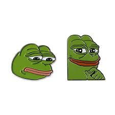 Kek Meme - praise kek kekistan sad pepe frog 4chan kek dank meme badge button