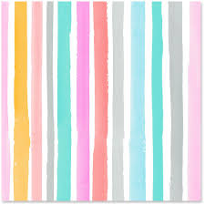turquoise wrapping paper watercolor stripes wrapping paper roll 27 sq ft wrapping