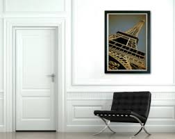 Home Of The Eifell Tower Eiffel Tower Print Etsy