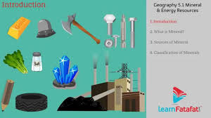 minerals and energy resources class 10 geography cbse 5 1