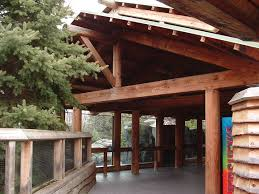 Timber Frame Pergola by Raised At A College In Poughkeepsie Ny This Pavilion Has A Gable