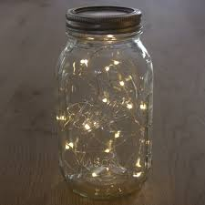 create the look of fireflies in a jar with our led string