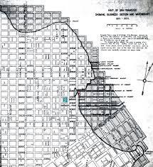 San Francisco Street Map by San Francisco History Yerba Buena Cove