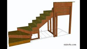 Stairs Book by How To Build And Frame Winder Stairs U2013 Example From Book Youtube