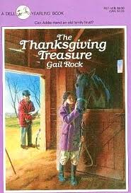 the thanksgiving treasure gail rock paperback 0440491177 used