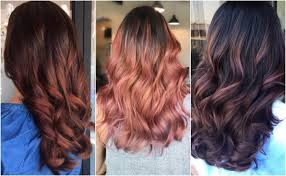 rose gold hair color how to get brunette rose gold hair