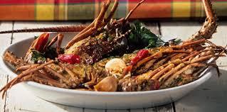 cuisine cr駮le facile langouste à la créole facile recette sur cuisine actuelle