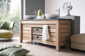 Ikea Meuble Double Vasque by Meuble Salle De Bain Teck Ikea Good Bien Meuble Pour Vasque A