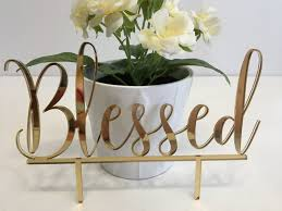 christian wedding cake toppers blessed cake topper custom wedding cake topper blessed sign