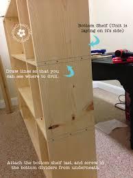 diy kids lockers make your own storage lockers for kids