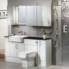 White Gloss Bathroom Furniture Vetro White Gloss Fitted Bathroom Furniture Roper