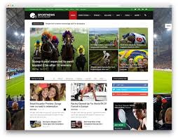 Newspaper Book Report Template Best Wordpress Sports Themes For Magazines And Sports Teams 2017