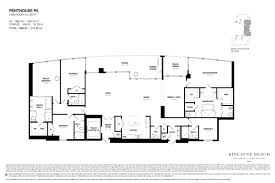 2 Bedroom Condo Floor Plans Biscayne Beach Condo Floor Plans Biscayne Beach Luxury Condos