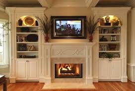 shelves around fireplace built in bookcases around fireplace