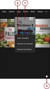 the home screen getting started with the kindle fire informit