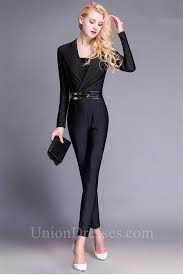 sleeve jumpsuits for jumpsuits for evening wear vsw fashion