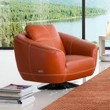 Orange Leather Sectional Sofa Leather Orange Swivel Chair Sectional Sofa Picture 87 Chair
