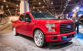 2015 F 150 Vs 2014 F150 Ford Brought A Gaggle Of Tricked Out 2015 F 150 Pickups To The