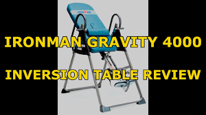 max performance inversion table ironman 4000 inversion table review assembly tips best budget vs