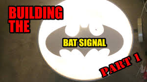 batman signal light projector make it real the bat signal part 1 youtube
