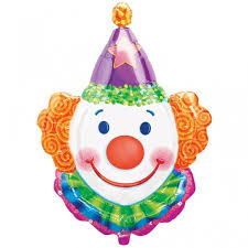 clown balloon l clown juggles foil balloon themed and shape balloons foil