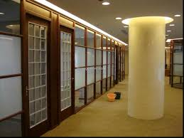 glass office partitions room dividers impressive ideas