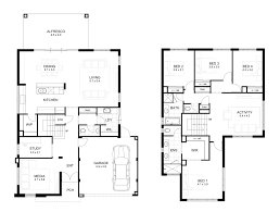 floor plans for large homes double storey 4 bedroom house designs perth apg homes
