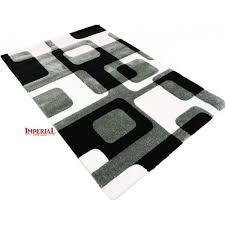 tappeti moderni bianchi e neri tappeto a righe bianco e nero idee per il design della casa